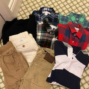 KIDS- 9 items for a Boys size 8 (shirts, pants)